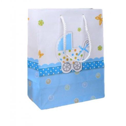 Babakocsis ajándéktáska - kék