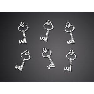 Vintage kulcs konfetti 26 mm