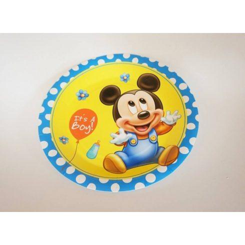 Baby Mickey tányér 18 cm  (6 db-os szett)