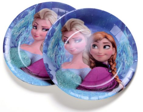 Jégvarázs tányér 23 cm  (6 db-os szett)