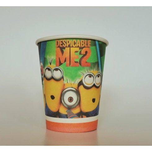 Minion pohár (6 db-os szett)