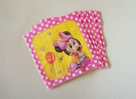 Baby Minnie party szalvéta
