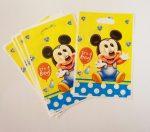 Baby Mickey egér ajándéktasak (6 db-os szett)