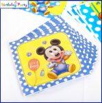 Baby Mickey party szalvéta