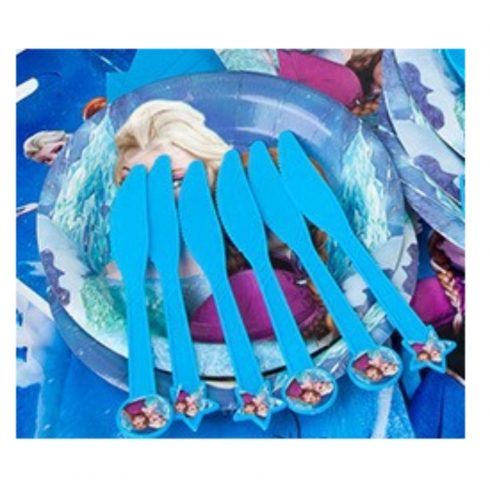 Jégvarázs műanyag kés (6 db-os szett)