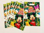 Mickey egér ajándéktasak (6 db-os szett)