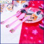Minnie műanyag kés (6 db-os szett)