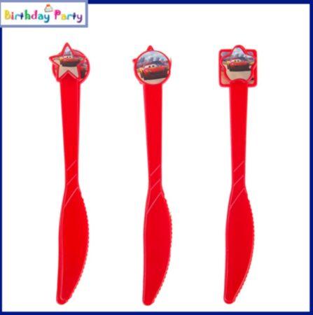 Verdák műanyag kés (6 db-os szett)