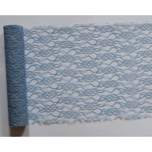 Csipke futó vintage kék - (29 cm * 5 m) (Utolsó 5 db)