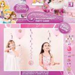 Hercegnő lufis party játék 8 főre