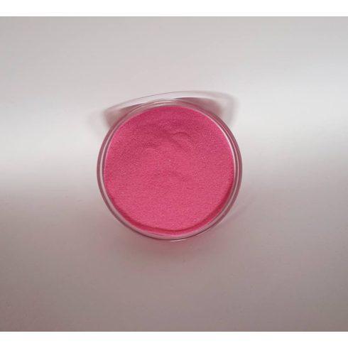 Dekorhomok - finomszemcsés pink (160 ml, kb. 250 g)