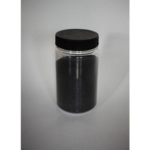 Dekorhomok - finomszemcsés fekete (160 ml, kb. 250 g)