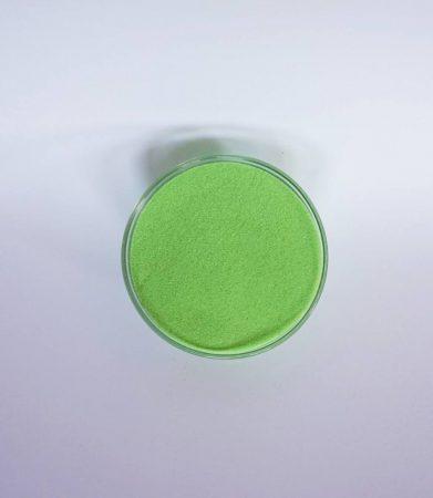 Dekorhomok - finomszemcsés almazöld 250 g