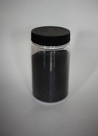 Dekorhomok - finomszemcsés fekete 450 g