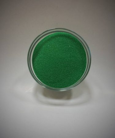 Dekorhomok - finomszemcsés klasszikus zöld 450 g