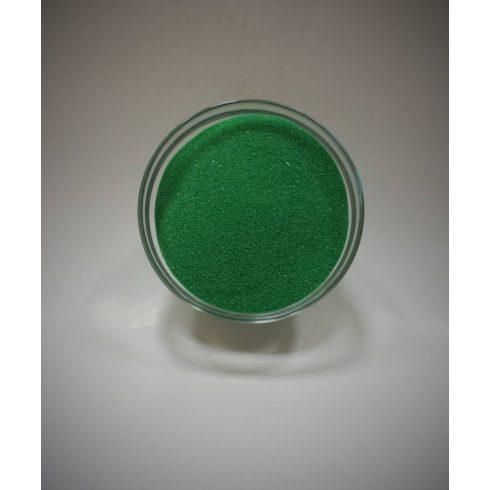 Dekorhomok - finomszemcsés klasszikus zöld 450 g - CSAK A NÁLUNK VÁSÁROLT HOMOKÖNTŐ SZETTEKHEZ VÁLASZTHATÓ HOMOK