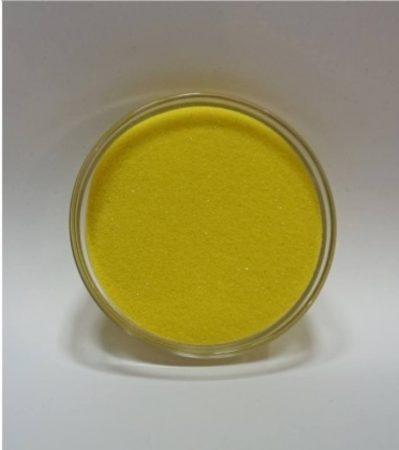 Dekorhomok - finomszemcsés citromsárga 200 g