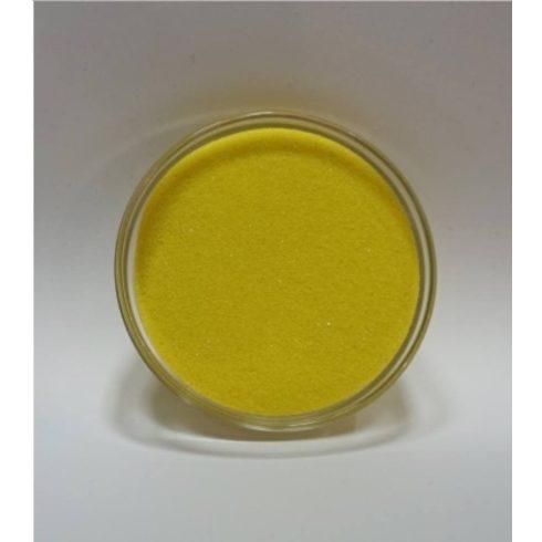 Dekorhomok - finomszemcsés citromsárga 250 g