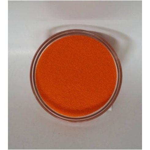 Dekorhomok - finomszemcsés narancs (160 ml, kb. 250 g).