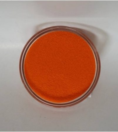Dekorhomok - finomszemcsés narancs 450 g.
