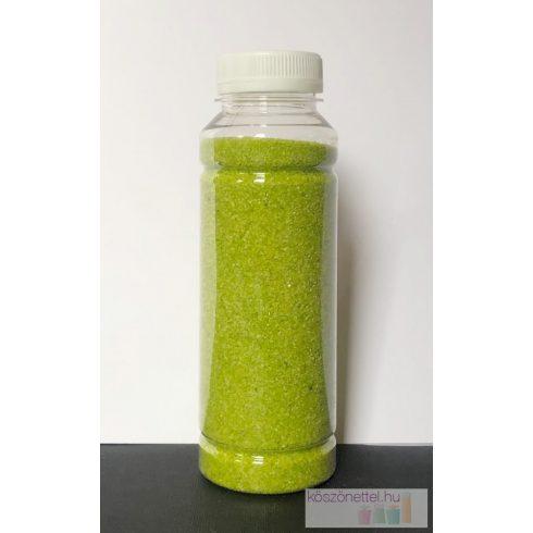 ALMAZÖLD  dekorhomok durvább szemcsés 260 ml (kb. 430 g)