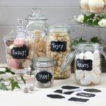 Feliratozható Candy bar matricák