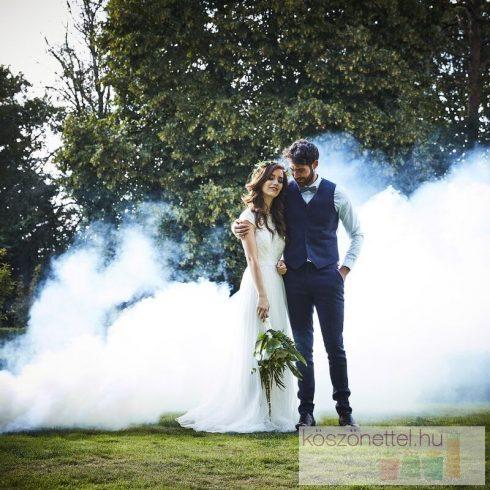 Füstbomba - fehér