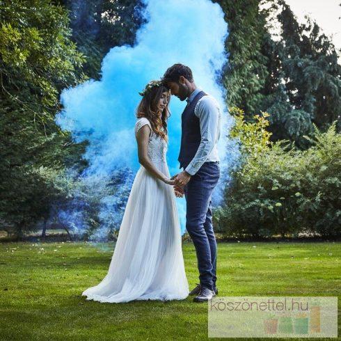 Füstbomba - kék