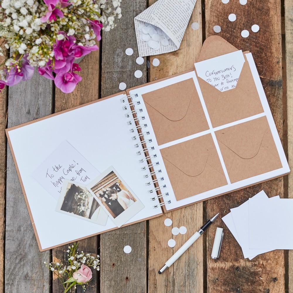 1eb9842317 Borítékos vendégkönyv - Köszönettel.hu esküvői webáruház