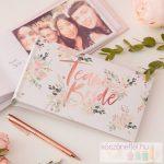 """""""Team Bride"""" virágos fotóalbum"""