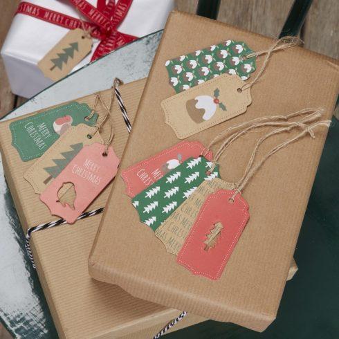 Karácsonyi ajándékkártyák (9 db-os csomag)