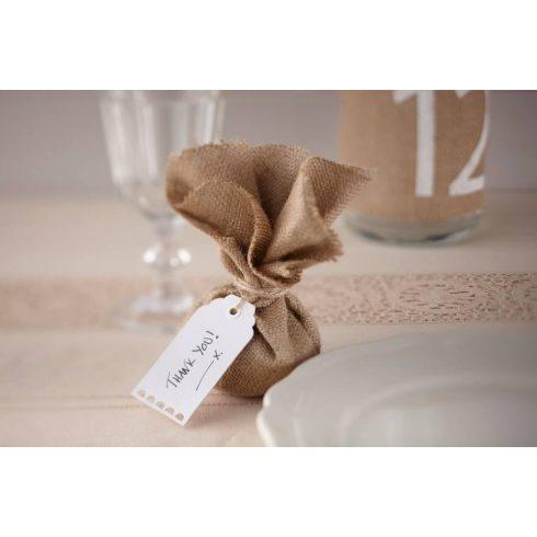 Fehér színű ajándékkártya (10 db-os csomag)