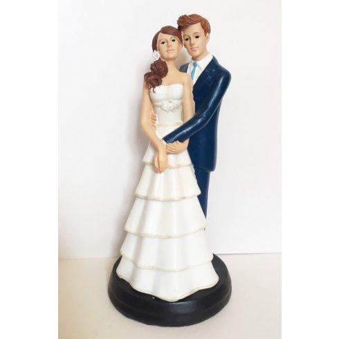 """""""Karjaidban"""" esküvői tortadísz"""
