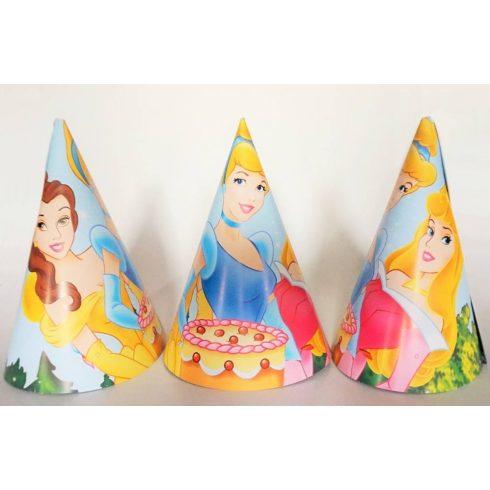 Disney hercegnős party kalap (6 db-os csomag)