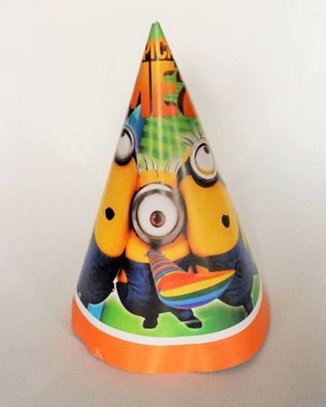 Minion party kalap (6 db-os csomag)
