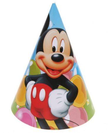 Mickey party kalap (6 db-os csomag)