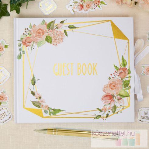 Vendégkönyv - Geo-virág kollekció