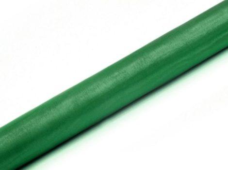 Organza futó klasszikus zöld - 36 cm