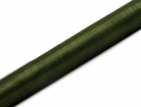 Organza futó sötétzöld - 36 cm