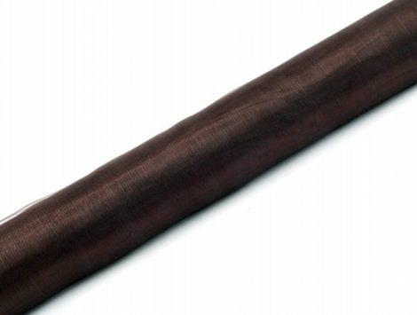 Organza futó sötétbarna - 36 cm