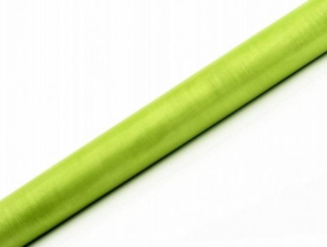 Organza futó almazöld - 36 cm