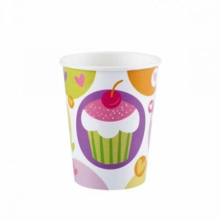Sütis pohár (8 db-os)