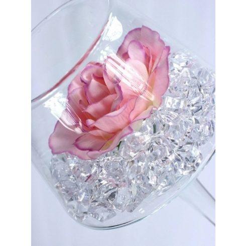 Jégkristály dekorkő