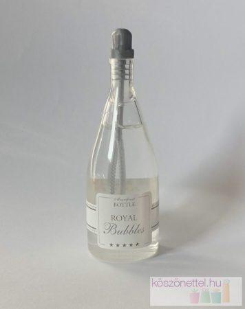 Pezsgős üveg buborékfújó