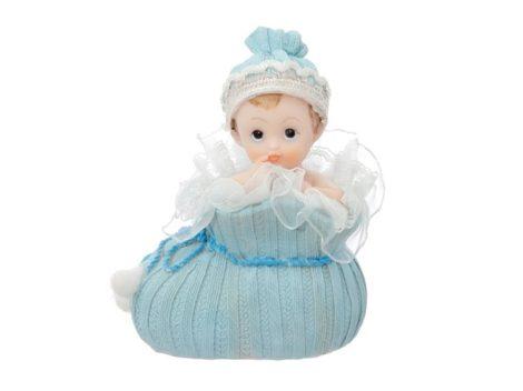 Fiúbaba tortadísz kiscipőben