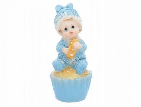 Fiúbaba tortadísz muffinon