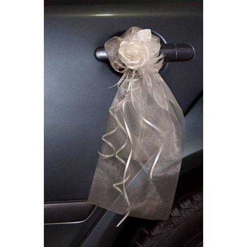 Autókilincs dekoráció krém (2 db-os csomag)