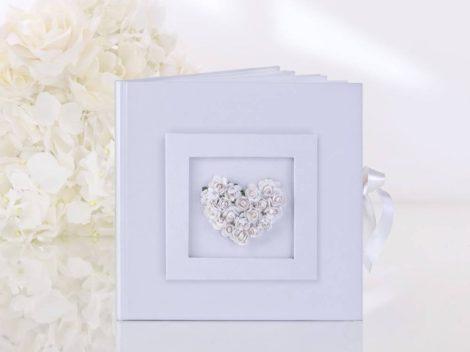 Fehér rózsa - vendégkönyv