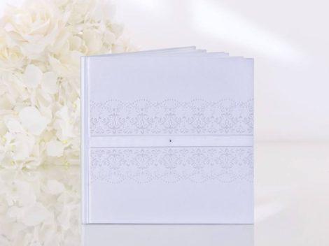 Hófehér hímzés - vendégkönyv