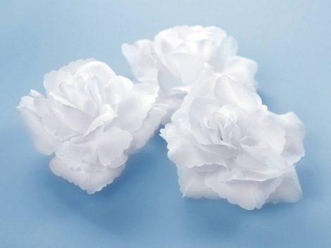 Öntapadós rózsa - fehér